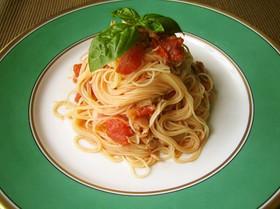 5分でできる簡単!冷製トマトパスタ