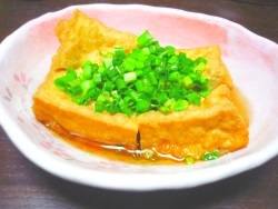 レンジで即効おつまみ☆厚揚げの煮物(5分以下)