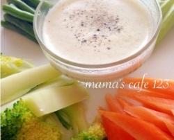 レンジで簡単!温野菜のバーニャカウダ(10分)