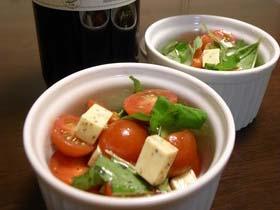 ★ワインのお供に♪ミニトマトで簡単1品★